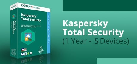 Buy KASPERSKY TOTAL SECURITY (1 YEAR / 5 DEVICES) for Software PC