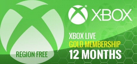 Xbox Live 12 Months GOLD Subscription Card GLOBAL