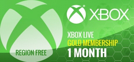 Xbox Live 1 Month GOLD Subscription Card GLOBAL