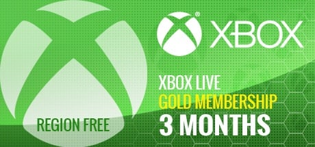 Xbox Live 3 Months GOLD Subscription Card GLOBAL
