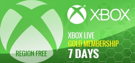 Xbox Live Gold 7-Days Trial Code GLOBAL