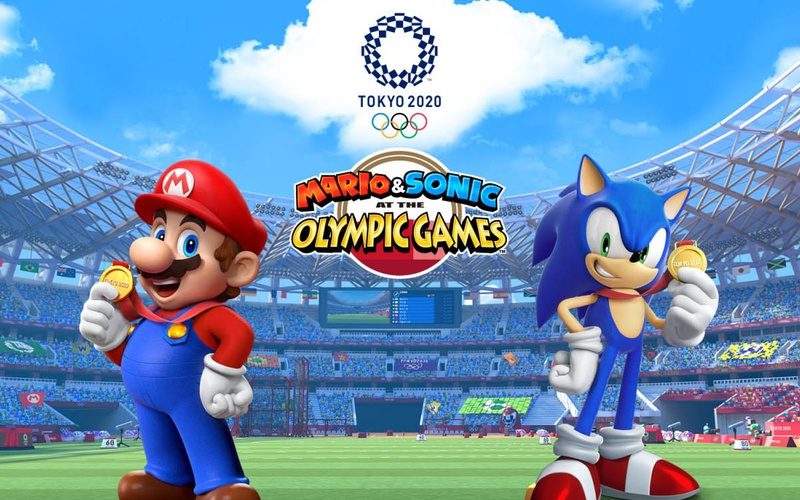 New Nintendo Switch Games 2020.Mario Sonic At The Olympic Games Tokyo 2020 Nintendo Switch