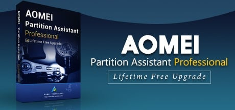 Buy AOMEI Partition Assistant Professional Edition + Lifetime Upgrade for Software PC