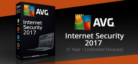 AVG Internet Security 2017 (1 Year / Unlimited Devices)