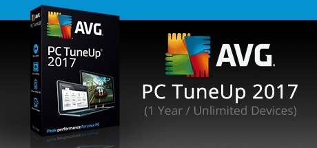 AVG PC TUNEUP 2017 (1 YEAR / UNLIMITED DEVICES)