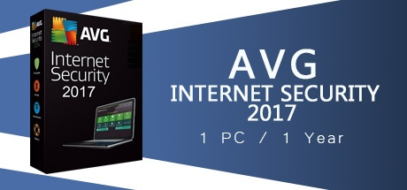 AVG Internet Security 2017 1 PC 1 Year