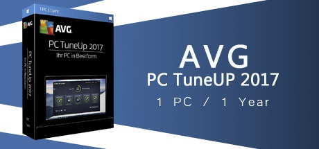AVG TUNEUP 2017 1 PC 1 Year