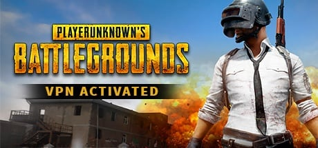 PLAYERUNKNOWN'S BATTLEGROUNDS  VPN Activated