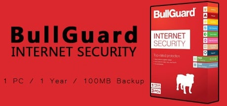 Bullguard Internet Security 1 PC 1 Year /100MB backup