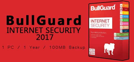 Bullguard Internet Security 1 PC 1 Year 2017 /100MB backup