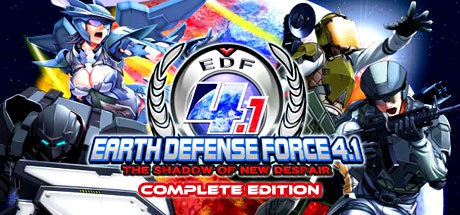 EARTH DEFENSE FORCE 4.1 The Shadow of New Despair Complete Edition