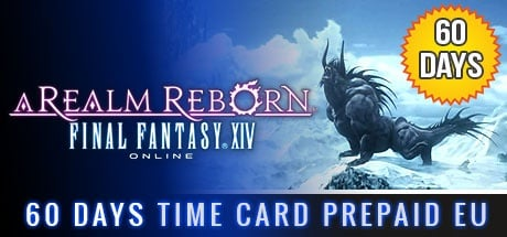 Final Fantasy XIV: A Realm Reborn 60 days Time Card Prepaid EU