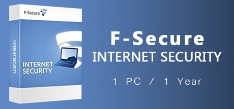 F-Secure Internet Security 2017 1 PC 1 Year