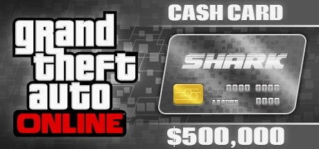 Grand Theft Auto Online: Bull Shark Cash Card - 500.000$ DLC ROCKSTAR
