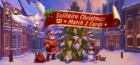 solitaire christmas match 2 cards - Solitaire Christmas