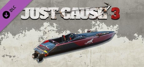 Just Cause 3 - Mini-Gun Racing Boat