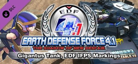Buy Gigantus Tank, EDF IFPS Markings for Steam PC