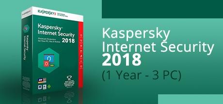 kaspersky internet security 2018 1 year 3 devices on. Black Bedroom Furniture Sets. Home Design Ideas