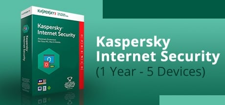 Buy Kaspersky Internet Security (1 Year / 5 Devices) for Software PC