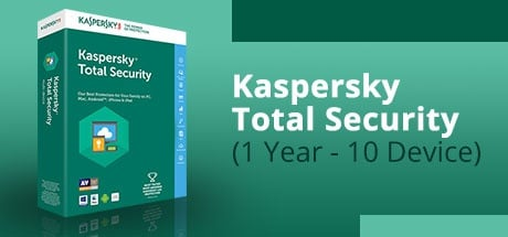 KASPERSKY TOTAL SECURITY (1 YEAR / 10 DEVICES)