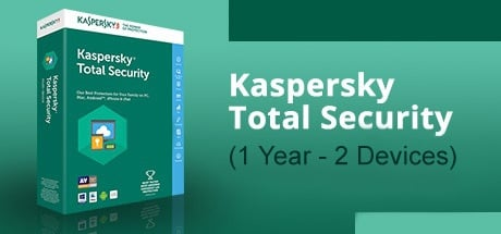 Buy KASPERSKY TOTAL SECURITY (1 YEAR / 2 DEVICES) for Software PC