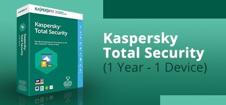 KASPERSKY TOTAL SECURITY (1 YEAR / 1 DEVICE)