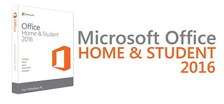 Buy MICROSOFT OFFICE 2016 HOME AND STUDENT for Software PC