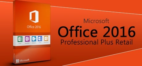 Microsoft Office 2016 Professional Plus Retail