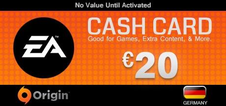Buy EA Origin €20 Cash Card DE for Origin PC