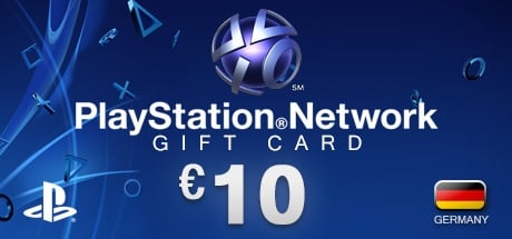 PlayStation Network Gift Card 10 € DE