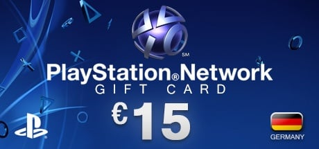 PlayStation Network Gift Card 15 € DE