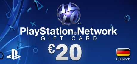 PlayStation Network Gift Card 20 € DE