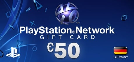 PlayStation Network Gift Card 50 € DE