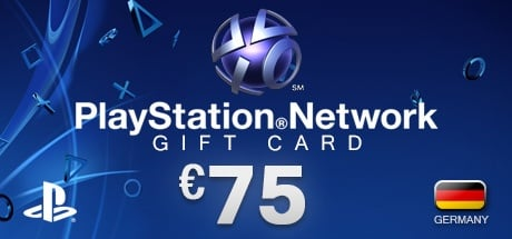 PlayStation Network Gift Card 75 € DE