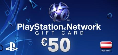 PLAYSTATION NETWORK CARD 50€ AT