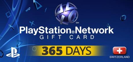 PLAYSTATION NETWORK CARD PLUS 365 DAYS CH