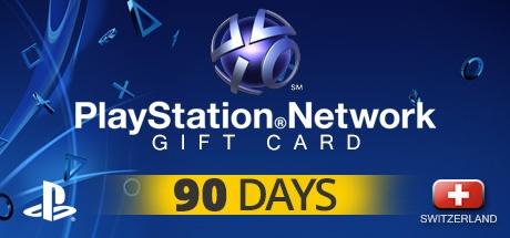 PLAYSTATION NETWORK CARD PLUS 90 DAYS CH