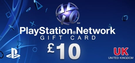 PLAYSTATION NETWORK CARD £10 UK