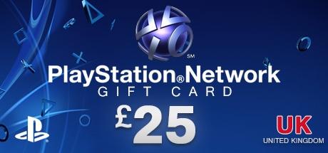 PLAYSTATION NETWORK CARD £25 UK