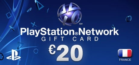 PlayStation Network Gift Card 20 € FR
