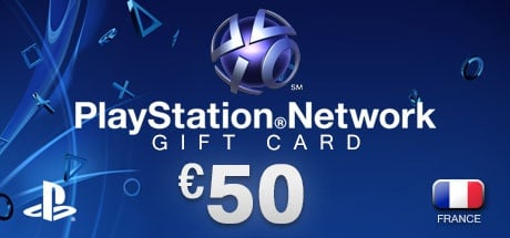 PlayStation Network Gift Card 50 € FR