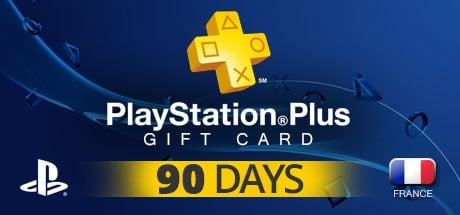 Buy PLAYSTATION NETWORK CARD PLUS 90 DAYS FR for PlayStation
