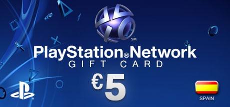 Buy PLAYSTATION NETWORK CARD €5 ES for PlayStation