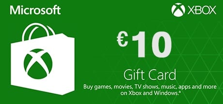 Xbox Live 10 Euro Gift Card On Xbox Pc Game Hrk Game
