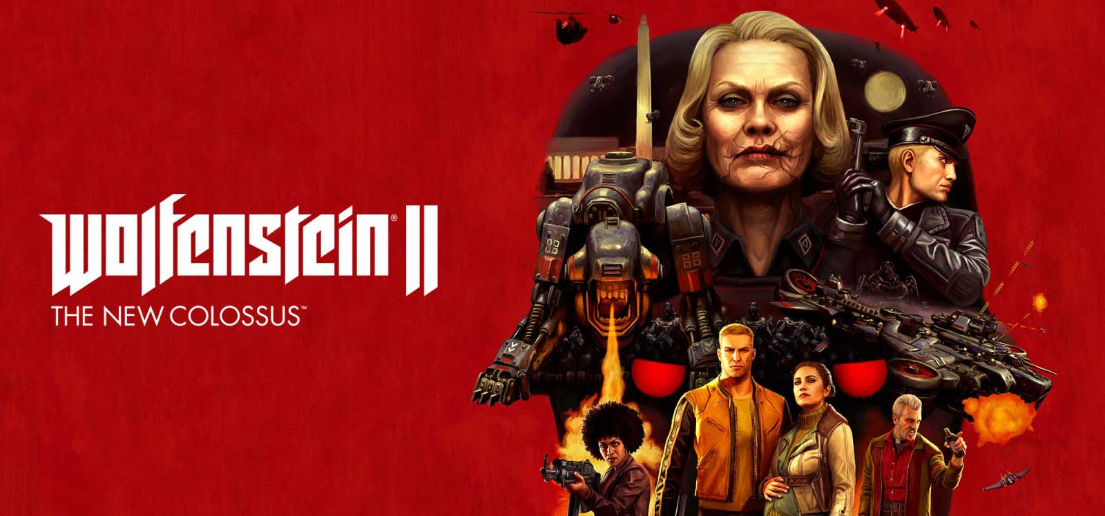 Wolfenstein 2 The New Colossus Nintendo Switch