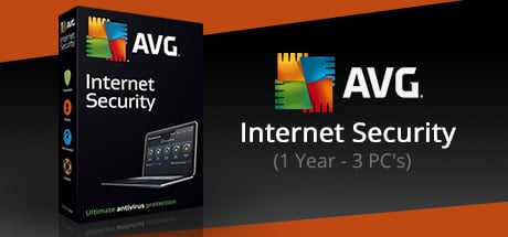 AVG Internet Security (3 PC's- 1 Year)