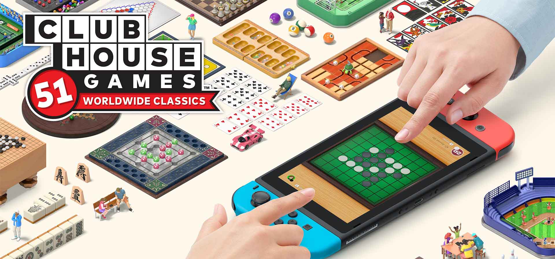 Clubhouse Games 51 Classic Nintendo Switch