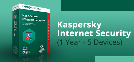 Kaspersky Internet Security (1 Year / 5 Devices)