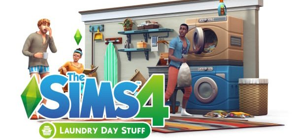Die Sims 4 Laundry Day Stuff
