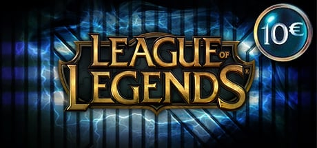 League of Legends LOL Riot Points Gamecard 10 EUR
